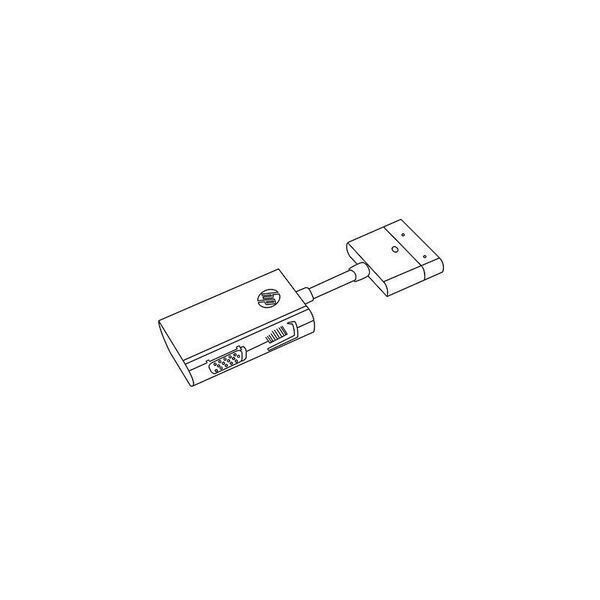 Hp Dock Connector To Ethernet Vga Adapter