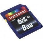 Carte mémoire Transcend 8 Go SDHC Class 10