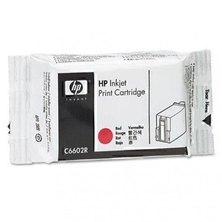 HP C6602R compatible avec Imprimante TIJ 18 ml - Rouge