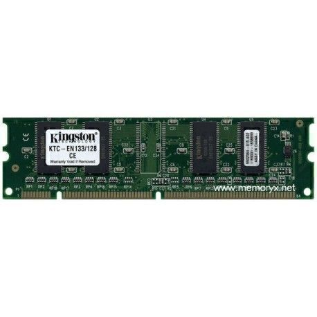 Kingston KTC-EN133/128 128MB SDRAM 133Mhz (PC133) - 3.3V - 168-pin DIMM