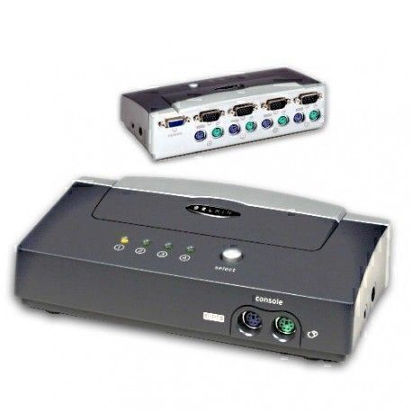 Belkin OmniView E Series Commutateur KVM 4 Ports (Occasion)
