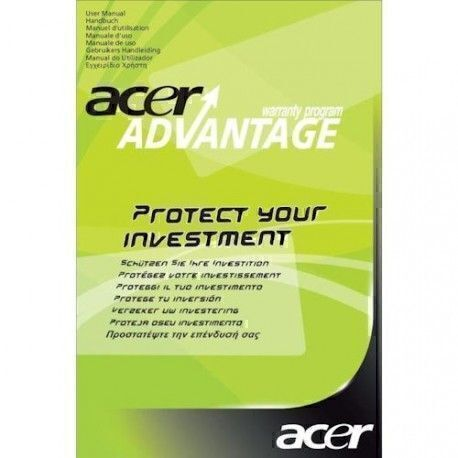 Acer 2-year warranty + Dara recovery