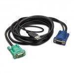 APC AP5822 3.66m Nero cavo per tastiera, video e mouse