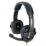 NGS GHX-505 Kopfband Binaural Verkabelt Schwarz, Blau Mobiles Headset