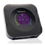 Netgear MR1100 Doble banda (2,4 GHz   5 GHz) Gigabit Ethernet 3G 4G Negro router inalámbrico