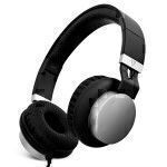 V7 Lightweight Headphones - Black Silver
