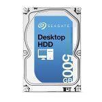 Seagate Desktop HDD 500GB SATA3 500GB Serial ATA III disco duro interno
