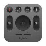 Logitech 993-001389 RF Wireless Drucktasten Grau Fernbedienung