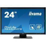 """iiyama ProLite T2453MTS-B1 23.6"""" 1920 x 1080Pixeles Dual-touch Mesa Negro monitor pantalla táctil"""