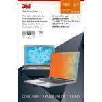 """3M Gold Touch Privacy Filter for 15.6"""" Full Screen Laptop"""