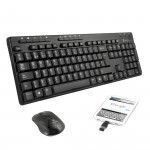 NGS Epsilon Kit RF Wireless QWERTY Schwarz