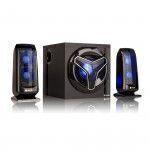 NGS GSX-210 speaker set 2.1 channels 80 W Black