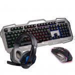 NGS GBX-1500 teclado QWERTY Negro, Gris