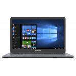 """ASUS VivoBook 17 X705UA-BX402T Gris Ordinateur portable 43,9 cm (17.3"""") 1600 x 900 pixels 2,00 GHz Intel® Core™ i3 de 6e"""