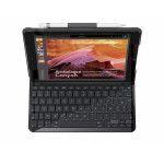 Logitech Slim Folio tastiera per dispositivo mobile Nero AZERTY Francese Bluetooth
