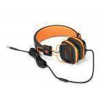 NGS Orange Gumdrop auricolare per telefono cellulare Stereofonico Padiglione auricolare Nero, Arancione Cablato