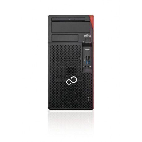 Fujitsu ESPRIMO P558 E85 2,8 GHz Intel® Core™ i5 de 8e génération i5-8400 Noir, Rouge Bureau PC