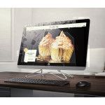 "HP 20 -c417nf 49,5 cm (19.5"") 1920 x 1080 pixels 1,8 GHz AMD E E2-9000 Blanc PC All-in-One"