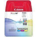 Canon CromaLife 100+ cartouche d'encre Original Cyan, Magenta, Jaune Multipack