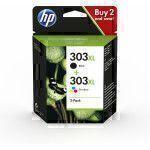 HP 303XL ink cartridge Original Black,Cyan,Magenta,Yellow Multipack 2 pc(s)