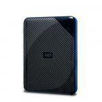 Western Digital WDBDFF0020BBK-WESN Externe Festplatte 2000 GB Schwarz, Blau