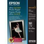 Epson Ultra Glossy Photo Paper - 10x15cm - 50 Blätter