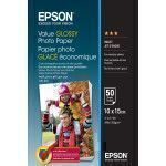 Epson Value Glossy Photo Paper - 10x15cm - 50 Blätter