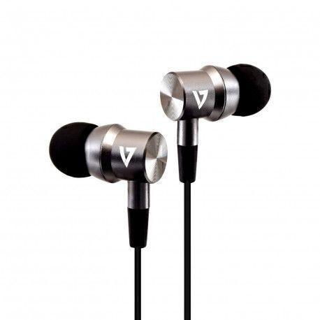 V7 HA111-3EB mobile headset Binaural In-ear Black