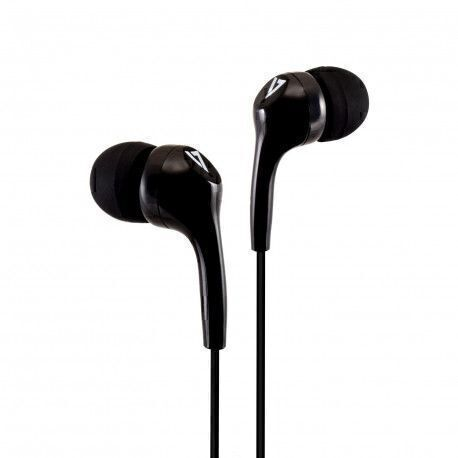 V7 HA105-3EB mobile headset Binaural In-ear Black