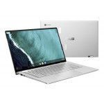ASUS Chromebook Flip C434TA-AI0032S Silber Hybrid (2-in-1) 35,6 cm (14 Zoll) 1920 x 1080 Pixel Touchscreen 1,1 GHz Intel® Core™