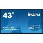 "iiyama LH4346HS-B1 signage display 108 cm (42.5"") LED Full HD Digital signage flat panel Black"