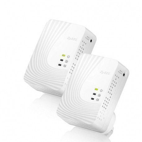 ZyXEL ZY-PLA4201DUO Pack de 2 Adaptateurs Powerline HomePlug 500 Mbps