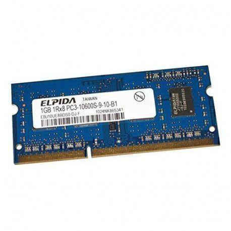 Elpida 1Go RAM SODIMM DDR3 PC3-10600S 1333MHz CL9