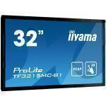 "iiyama ProLite TF3215MC-B1 monitor touch screen 81,3 cm (32"") 1920 x 1080 Pixel Nero Single-touch Chiosco"