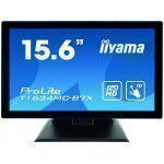 iiyama ProLite T1634MC-B7X Touchscreen-Monitor 39,6 cm (15.6 Zoll) 1920 x 1080 Pixel Schwarz Multitouch Multi-Nutzer