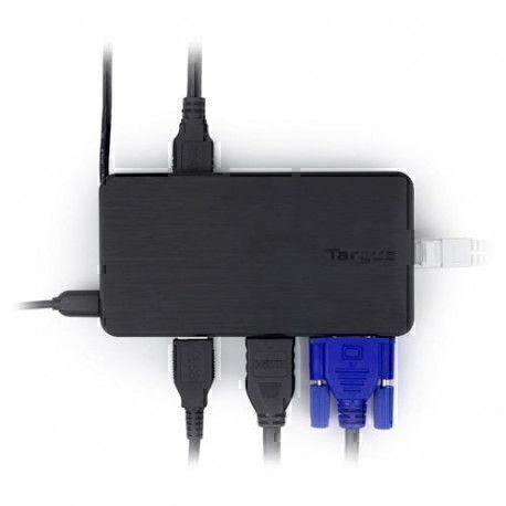 Targus Station d'accueil USB 3.0 pour PC portable/Tablette/Téléphones