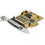 StarTech.com 8-Port PCI Express RS232 Serial Adapter Card - PCIe RS232 Serial Card - 16C1050 UART - Multiport Serial DB9