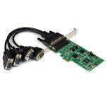 StarTech.com 4 Port PCI Express PCIe Serial Combo Card - 2 x RS232 2 x RS422   RS485