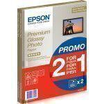 Epson Premium Glossy Photo Paper - A4 - 2x 15 Blätter