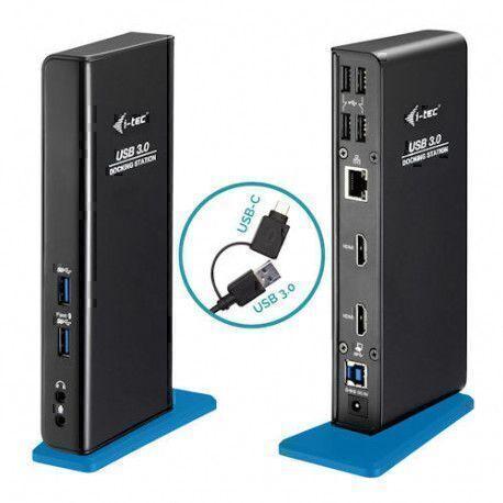 I-Tec Station d'accueil i-tec USB Type C pour Notebook/Moniteur