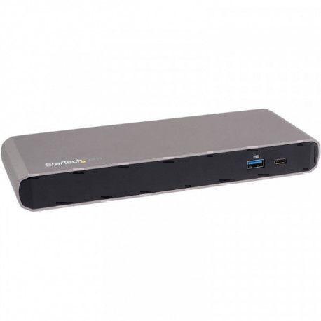 StarTech.com Station d'accueil Thunderbolt 3 double 4K pour ordinateur portable