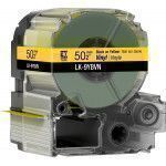Epson LK-9WBVN label-making tape Black on yellow