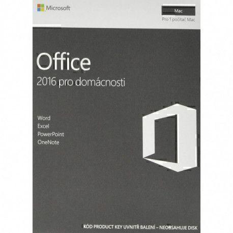 Microsoft Office 2016 - Mac - Langue Tchèque - Sans média
