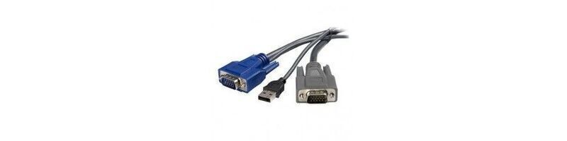 Accessoires et câbles pour switches KVM