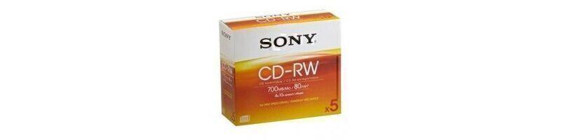 CD-RW riscrivibili
