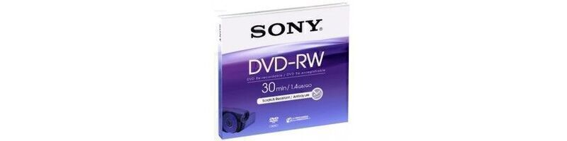 Disques DVD-RW