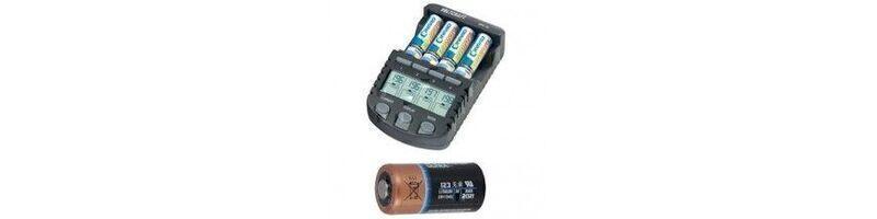 Las baterías recargables y cargadores