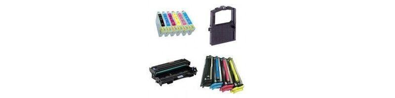 Gli inchiostri / Toner / Nastri / Batterie